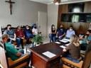 Vereadores participam de reunião com a Prefeita Juliane e Vice Fochezatto.